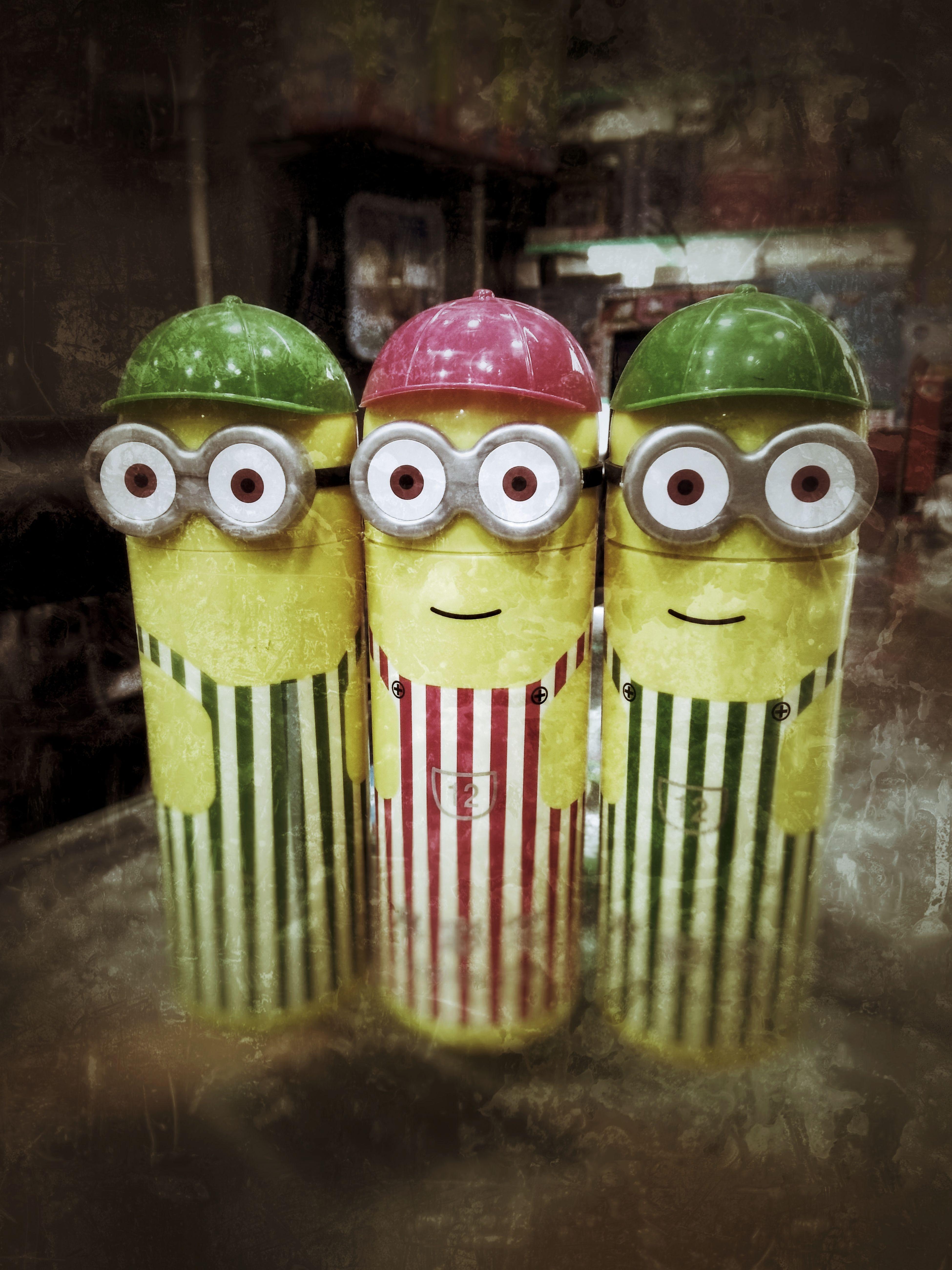 Bananatalk Bananas Banana Split Love To Take Photos ❤ Perfection❤❤❤ Creativity anthropomorphic face Love To Take Photos Portrait HandMadeToy Handmade Crafts No People Caps Boldeyes