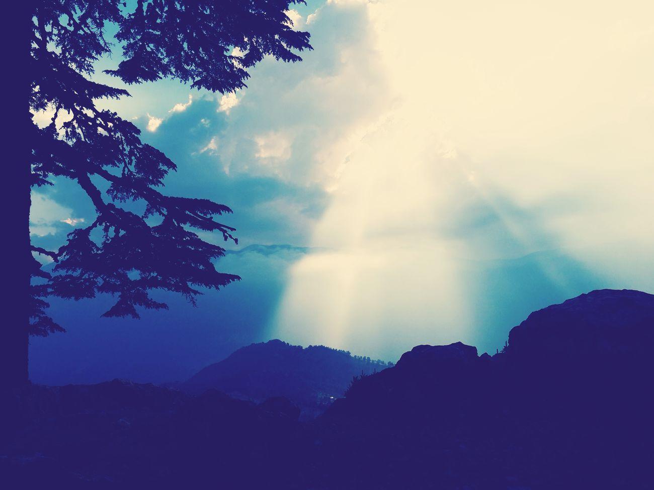 Gün Batımı Kumluca Söğütcuması Gun Batımı Bulut ışık