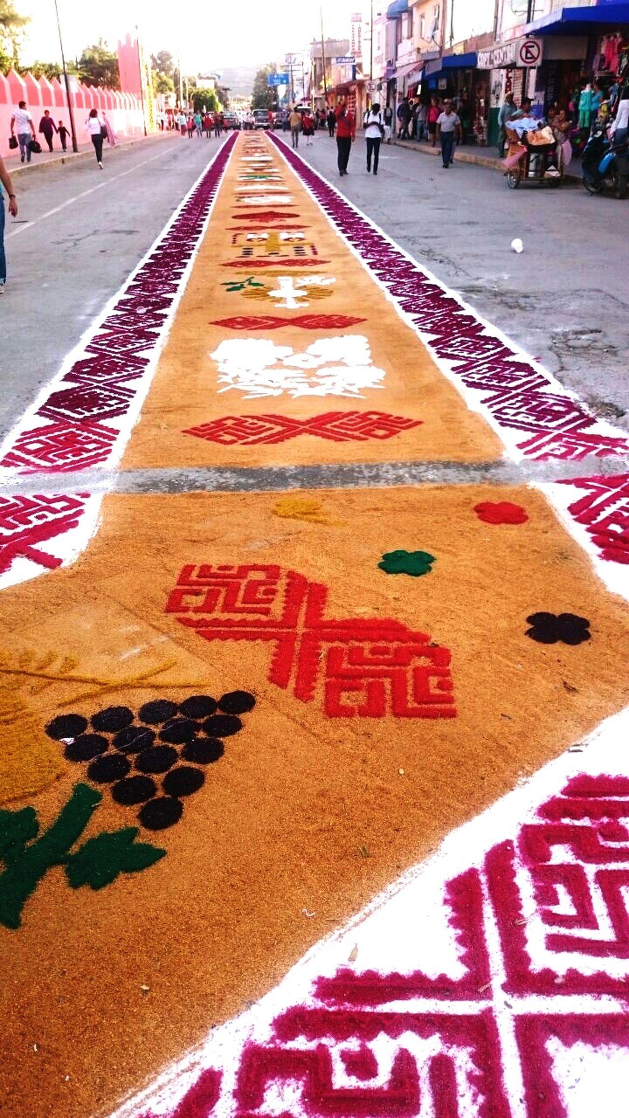 Caminos con significado en la fiesta patronal. Hidalgo  IxmiquilpanHgo