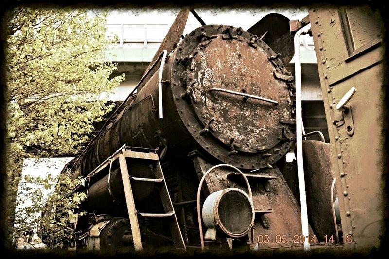Old Train Wolsztyn Poland