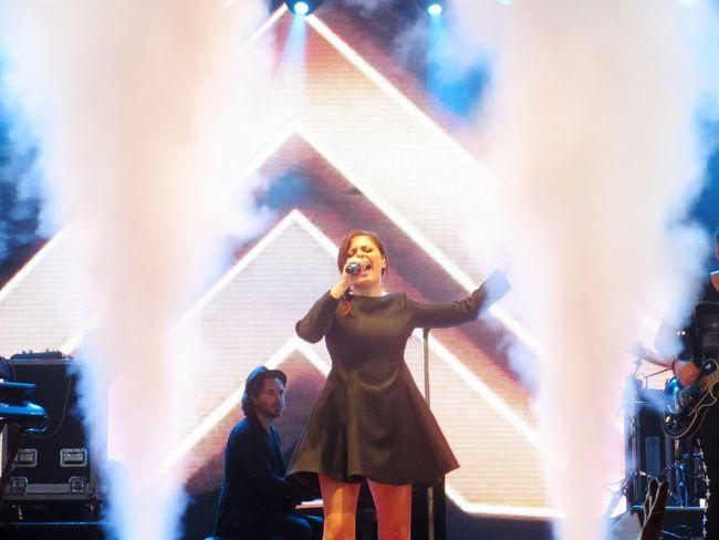 Annalisa ❤️ Nali 👸 Vincerò ✌ Una Finestra Tra Le Stelle 🌌 Porta Di Roma ⛲️ Portadiroma Live 🎤 Roma ❤️ 💛 Roma Splende 💖 💛 SPLENDE ✨ SplendeTour