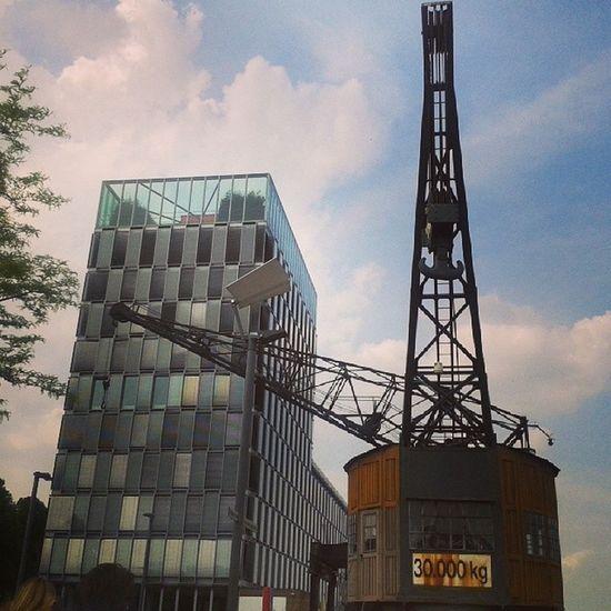 Rheinauhafen Köln . Industry meets Modern life. modernarchitecture architecture monuments history kran business living Cologne Germany