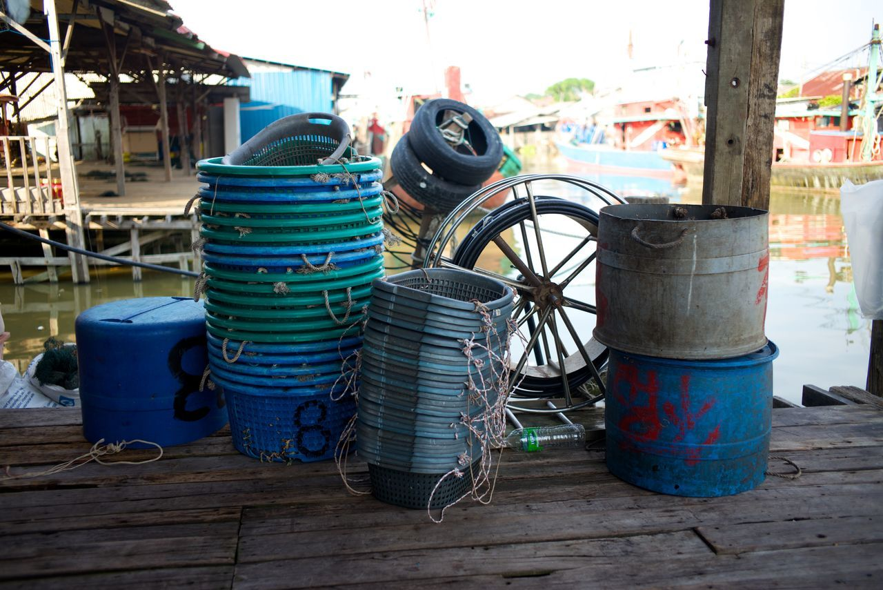 Fishing Fishing Tools Fishing Village Industry Jetty Leica M240 No People Outdoors Seki
