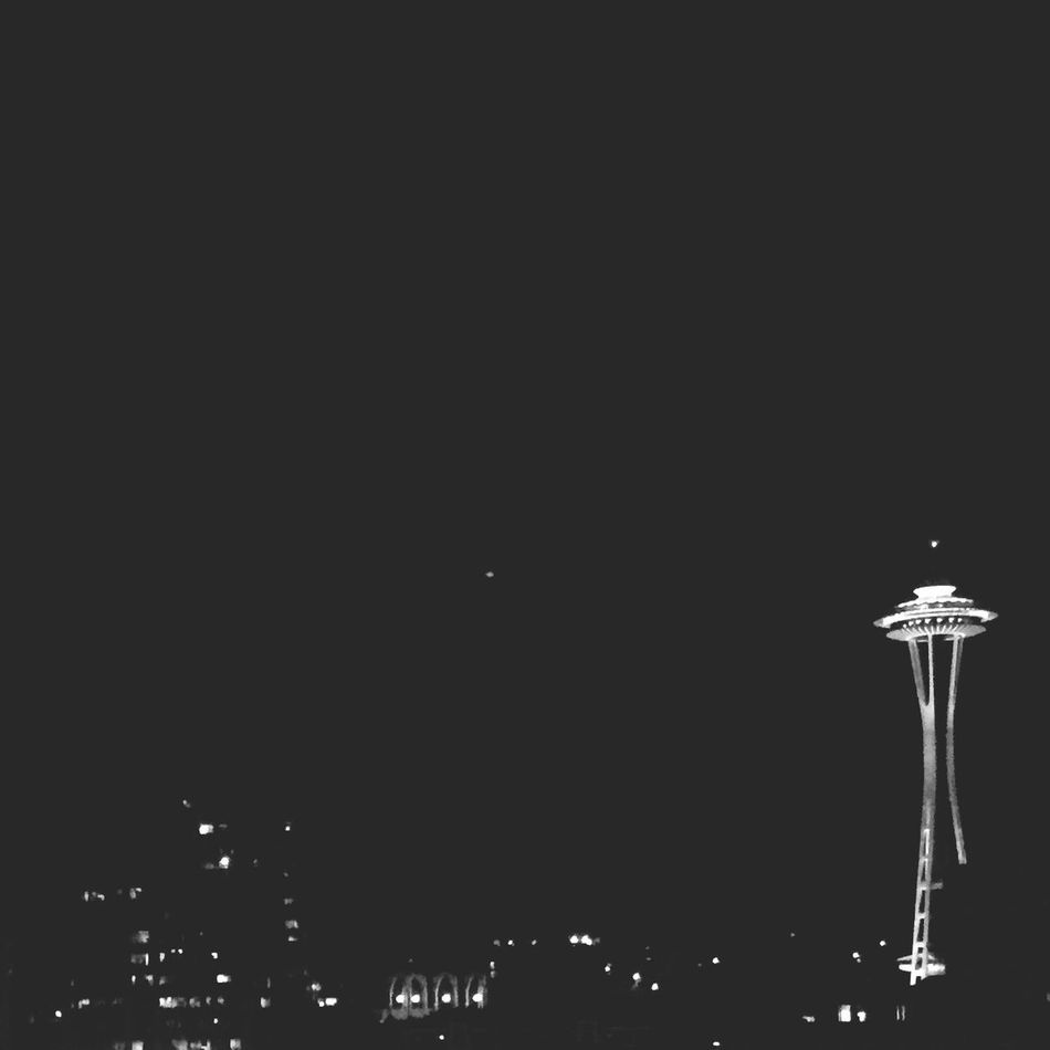 View from my window. Spaceneedle Seattle