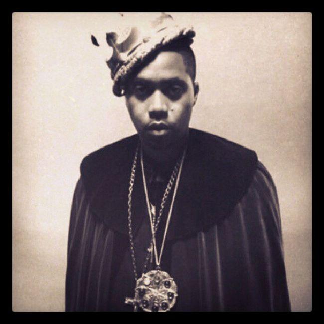 The king of hiphop Nas NastyNas Escobar HipHop nasirjones