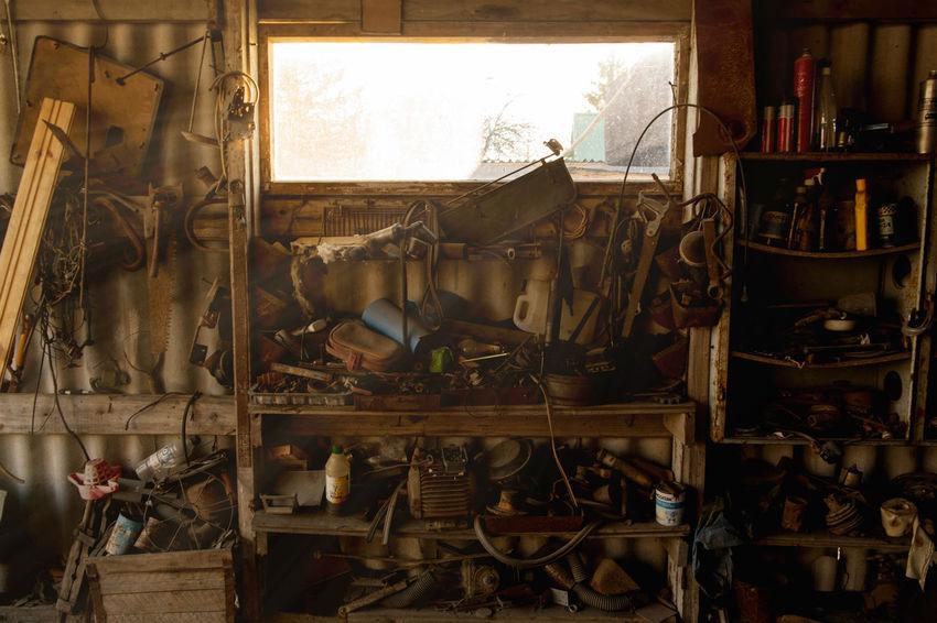 Barn Work Workshop Garage Old Shed Sunshine Tools Vintage