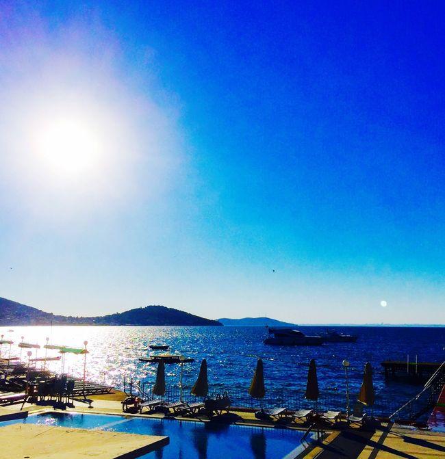 Sunset Heybeliada Silhouette Halki Princeislands Reflections Sea Sea And Sky Seascape Sea View Island Life