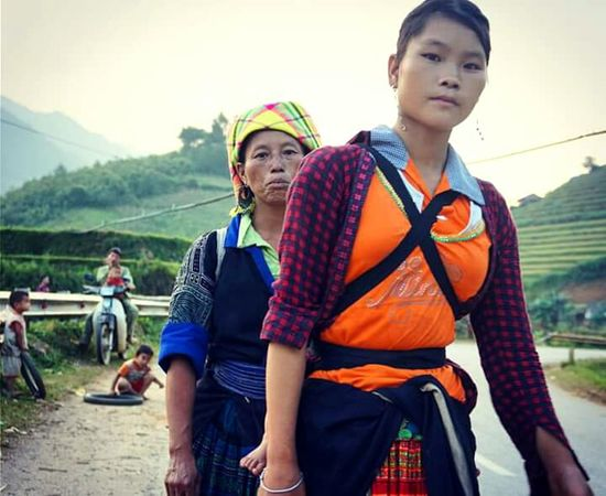 People in Mu Cang Chai _Viet Nam. People Photography Fashionstyle Street Fashion Mucangchai Vietnam October2015 On The Farm Travel Photography
