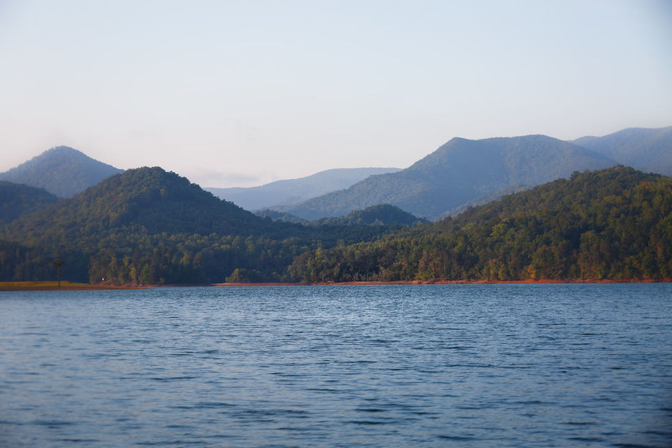 Appalachian Mountains Beauty In Nature Blue Ridge Mountains Day GA Lake Landscape Landscape_Collection Mountain Mountain Range Mountains Nature NC Outdoors View Water Water View