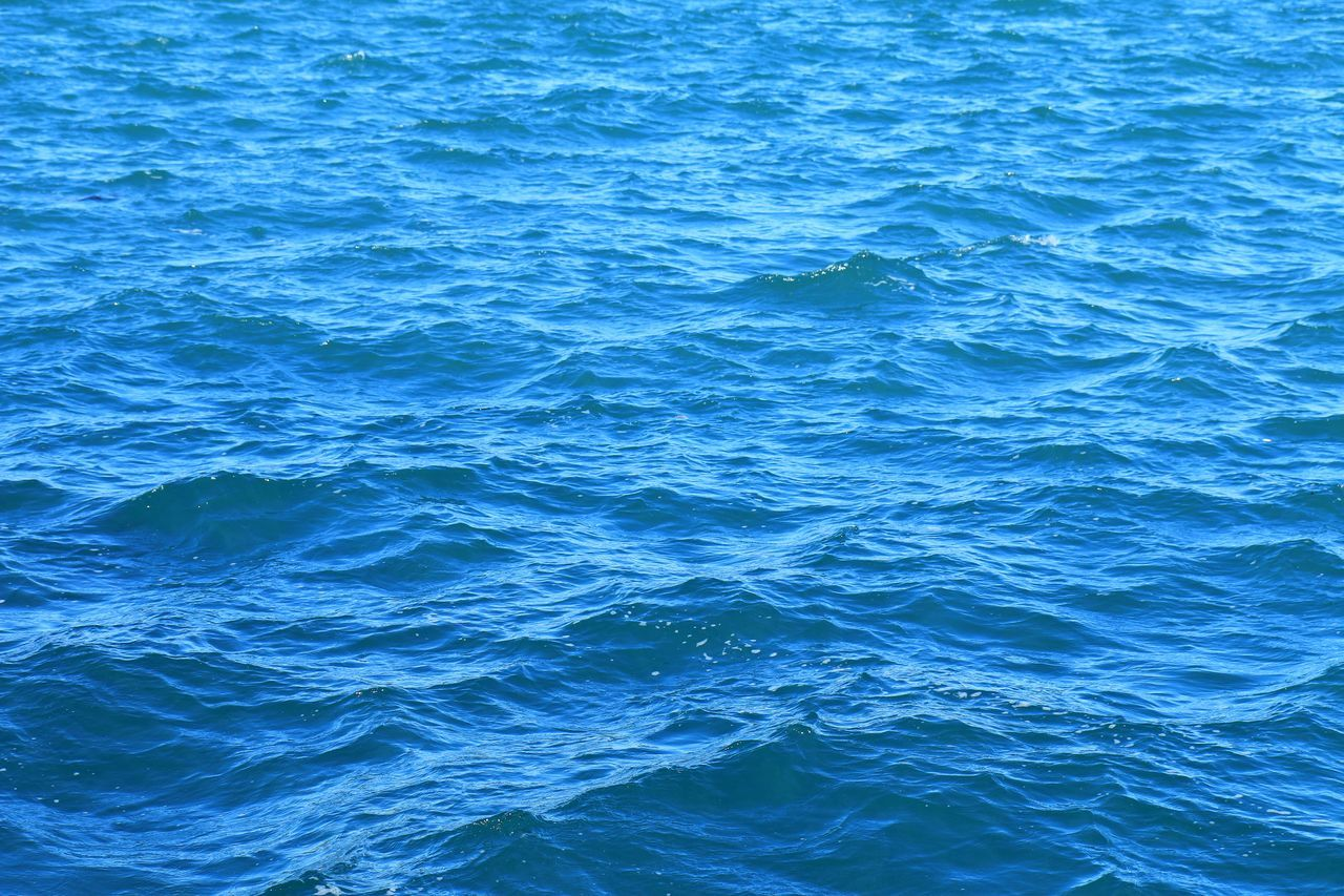 Abstract Backgrounds Beauty In Nature Blue Blue Wave Capture The Moment Color Palette Colour Of Life EyeEm Best Shots EyeEm Nature Lover Fine Art Photography First Eyeem Photo Freshness Getting Inspired Hello World Nature Outdoors Remote Rippled Sea Taking Photos Tranquility Travel Water Wave