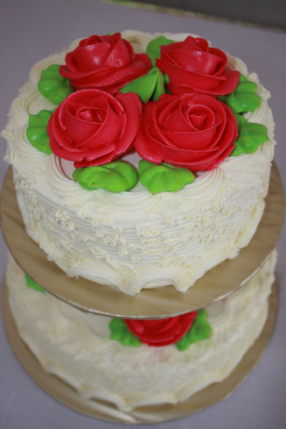 Cake Close-up Day Dessert Dessert Topping Flower Food Food And Drink Freshness Indoors  Indulgence No People Ready-to-eat Rose - Flower Sweet Food Temptation Unhealthy Eating Wedding Cake