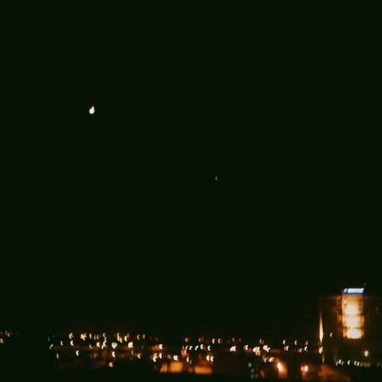 Night Sky Balcony Noida