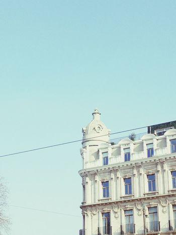 Opéra Enjoying Life Nice Memories.. Quality Time Being Cultured IPhone4s Buildings & Sky Corner