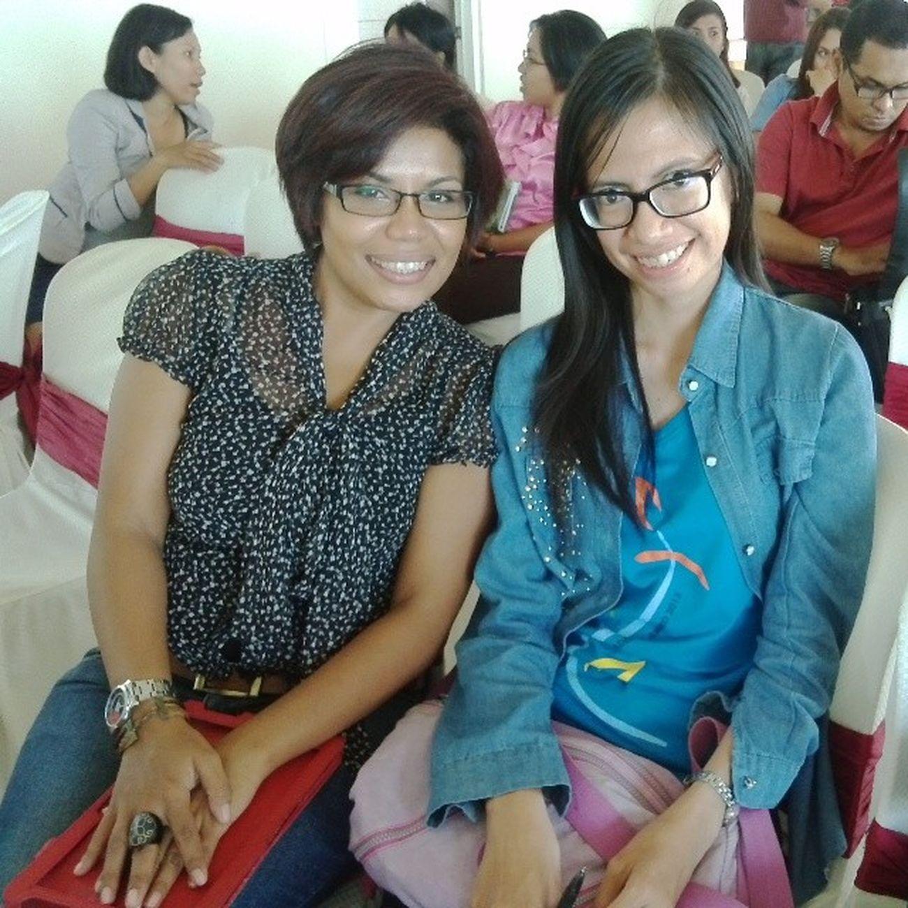 With dr.Sandra...Bloggerjugamanusia