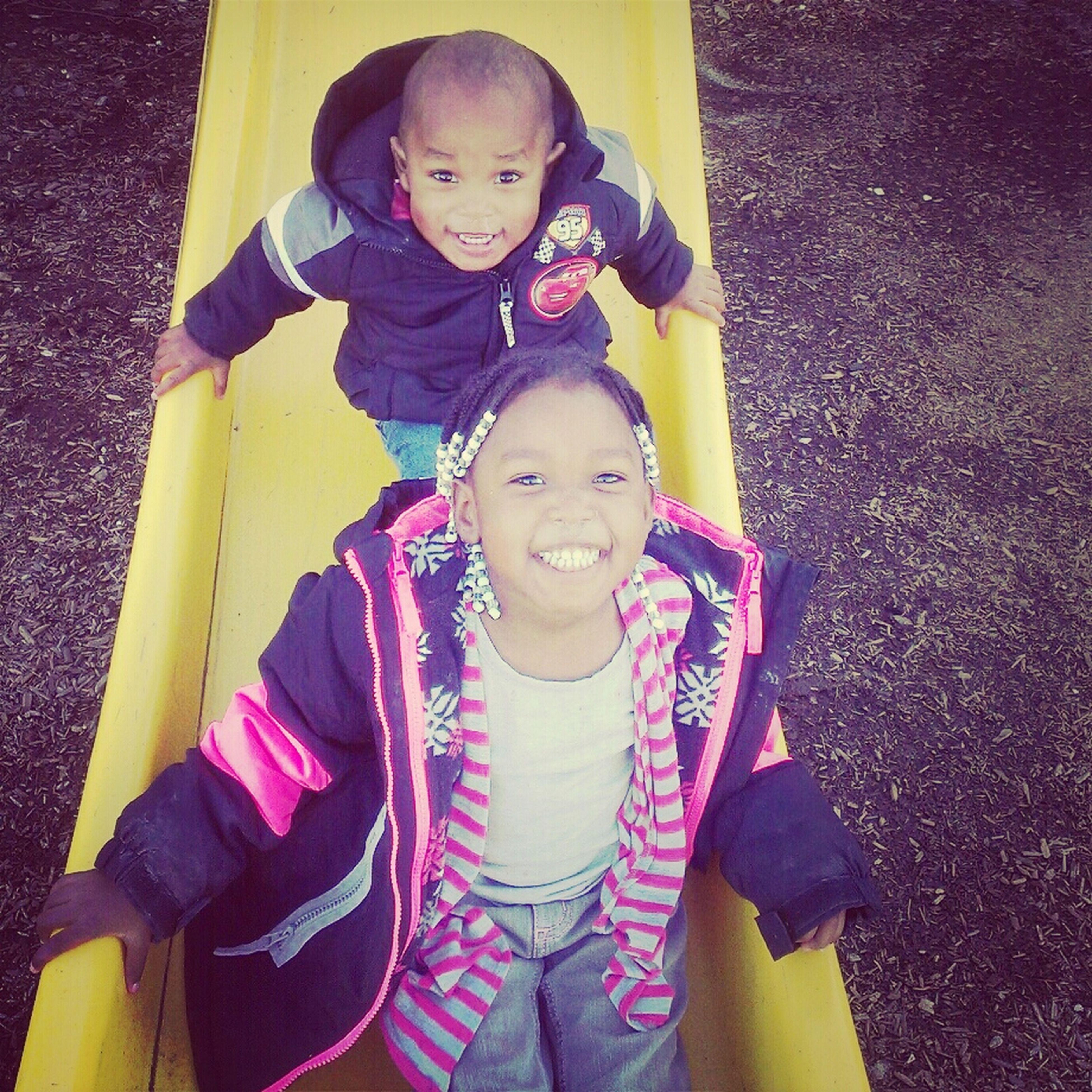 Playground Fun With The Kids