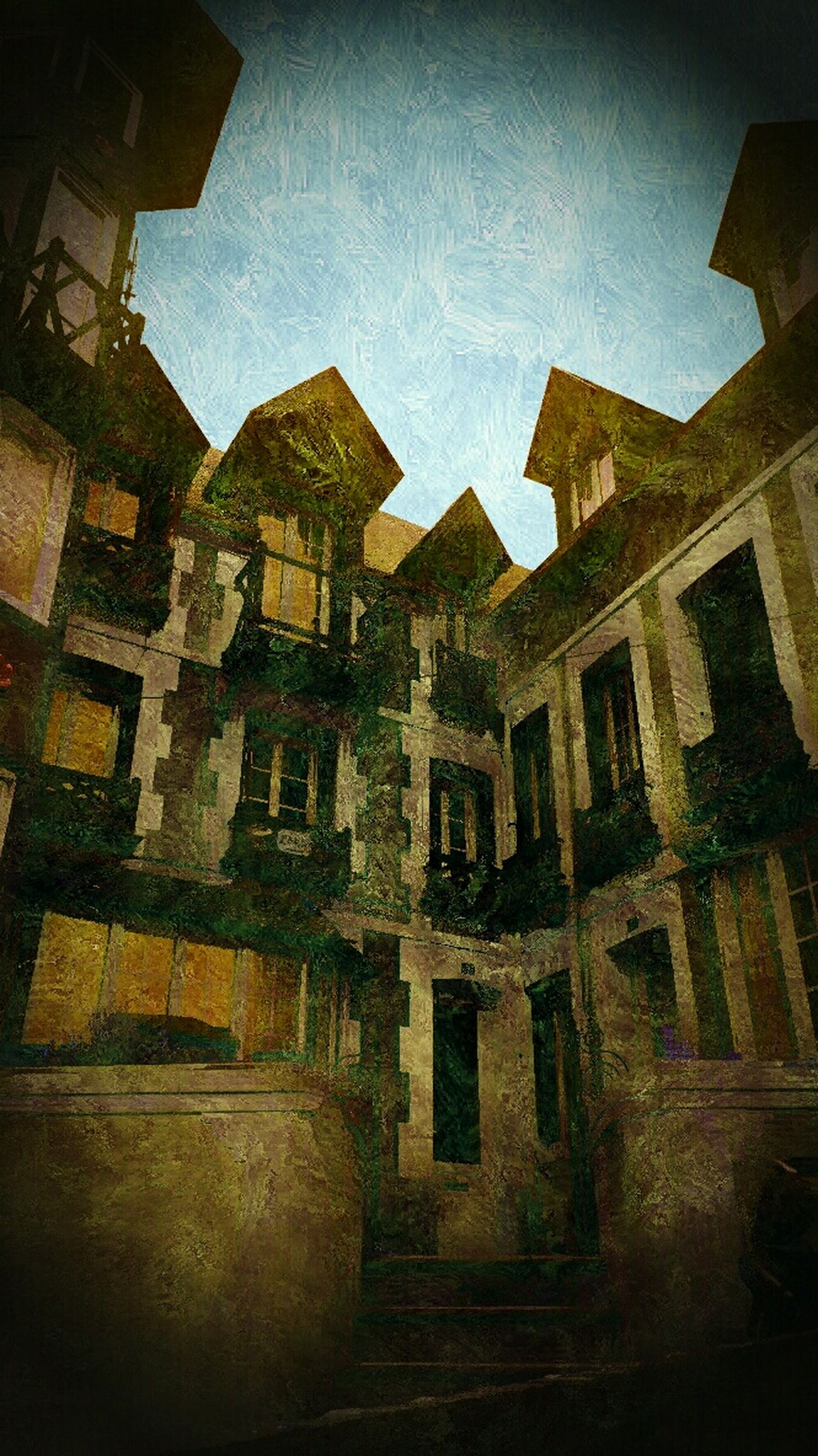 Old Buildings Atmosphere Bunch Of Magical Thoughts