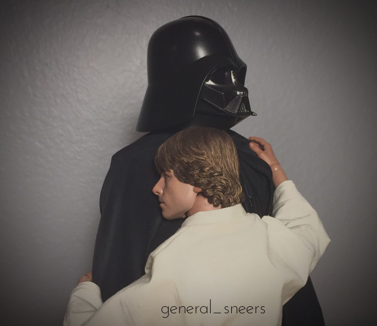 Hold me. Wrongquote Leiasaidthat Hottoys Anewhope Starwars Lukeskywalker Hottoyscollector Adultingwithtoys Darthvader Hottoysvader