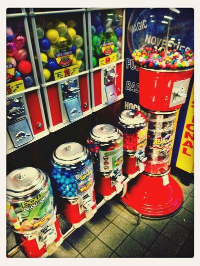 Let's Gum! Chewing Gum Colors Colorful Bubblegum Bubble Gum Bubble Gum Wall Vending Machine Chewing Gum Vending Machine Vending Colours