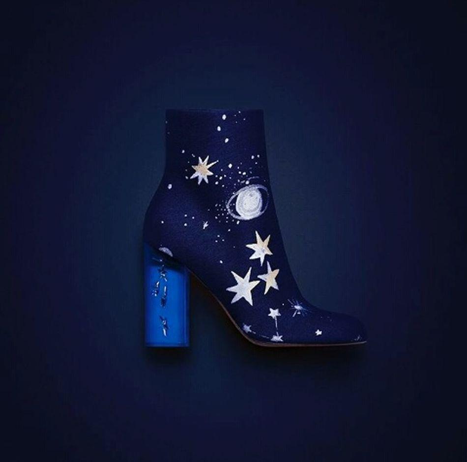 Getting Creative Maisonvalentino Stars Galaxy Shoes Fashionista Darkblue