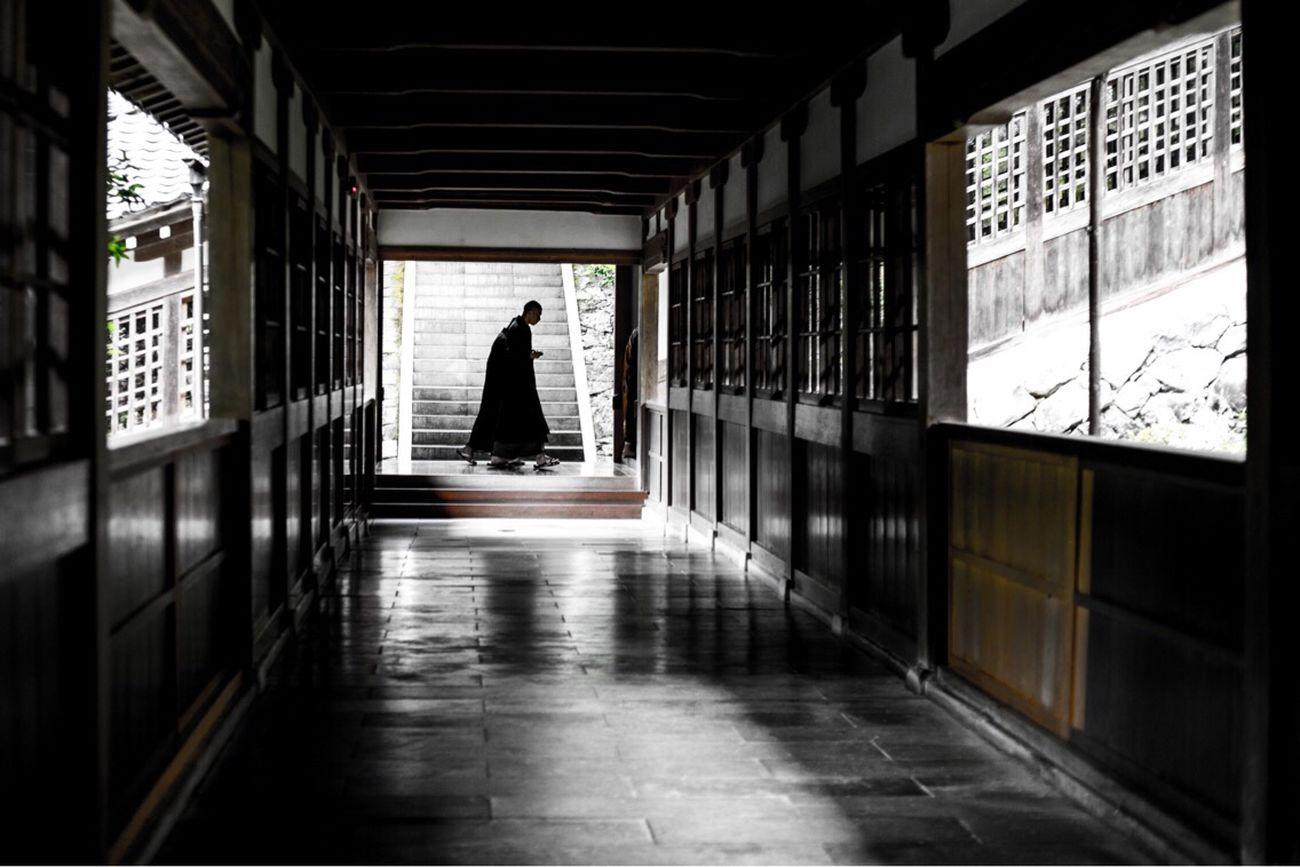Eiheiji Fukui Japan 永平寺 福井県 日本 Japanese Style Monk  Corridor Buddhism Buddhist Buddhist Monks
