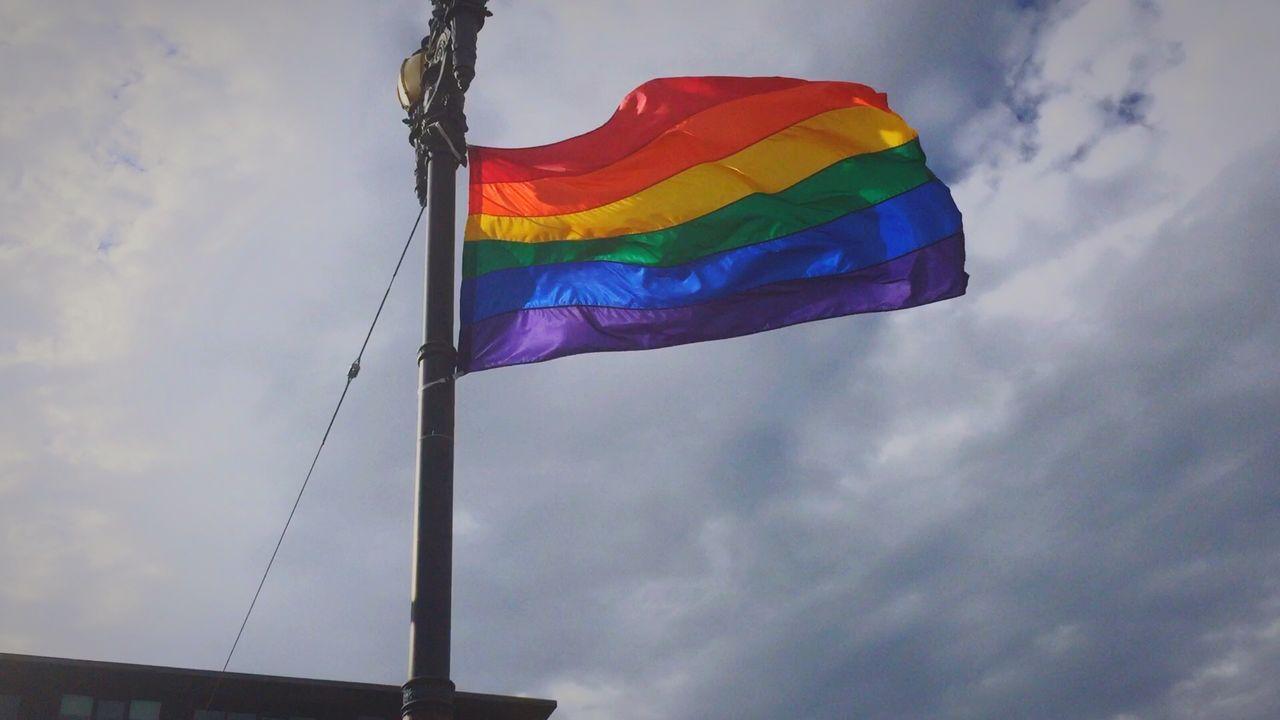 Beautiful stock photos of gay, Cloud - Sky, Cloudy, Day, Flag