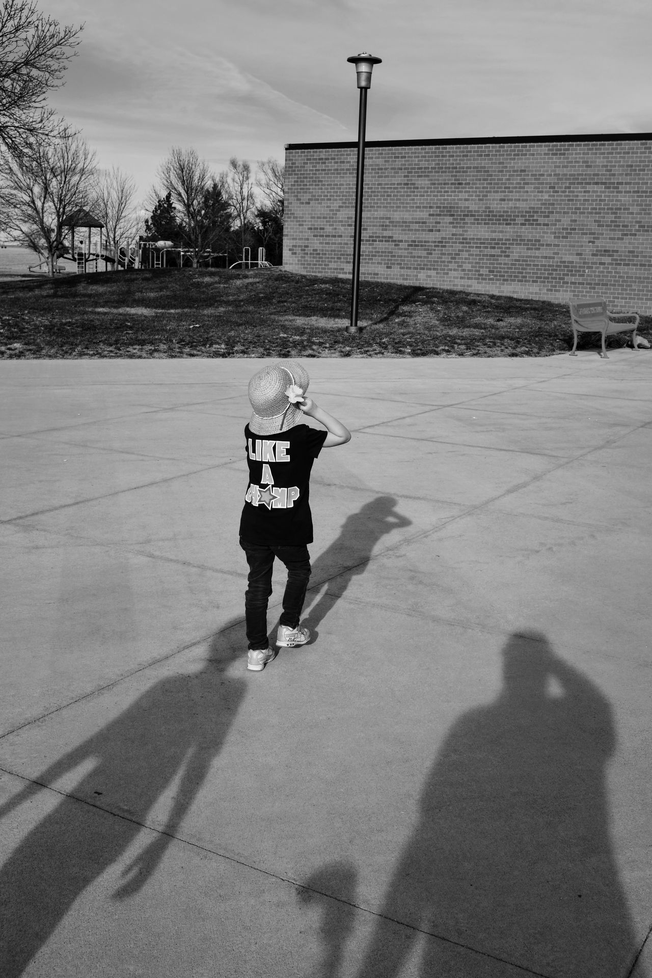 Visual Journal March 17, 2017 Daykin, Nebraska Black & White Candid Portraits Composition Day Everyday Lives EyeEm Best Shots - Black + White EyeEm Gallery EyeEmBestPics FUJIFILM X100S Full Length Kids Being Kids Kids Of EyeEm Lifestyles Me And My Shadow Outdoors Photo Diary Preschool Age Real People Rural America School Small Town Stories Storytelling Sunlight Visual Journal Walking