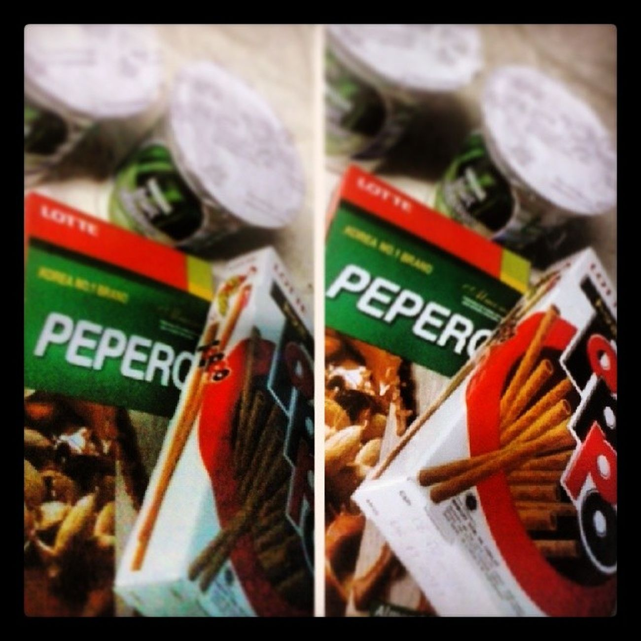 LATE DINNER/MIDNIGHT SNACK. Walang diet, diet sa taong gutom. Lol! Toppo Pepero Nestlefruitselection