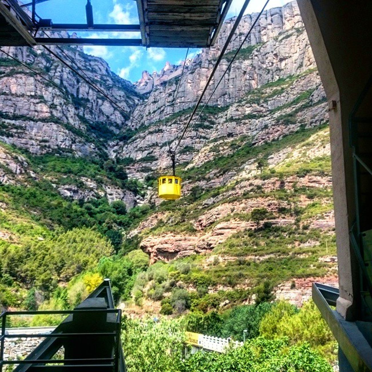 Montserrat 2ndDate Love Exploring Adventure June Romance Romanticadventures Beforethetop Cablecar GettingHigh Spannishhistory Instagood 2015