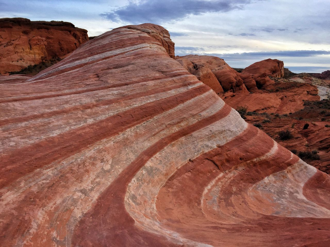 """Fire Wave"" Nature Sky Rock - Object Landscape Geology Rock Formation Outdoors Travel Physical Geography Tranquility Travel Destinations Desert Day Tourism Tranquil Scene Scenics Arid Climate No People Beauty In Nature Colorful Rock Formation Striped"