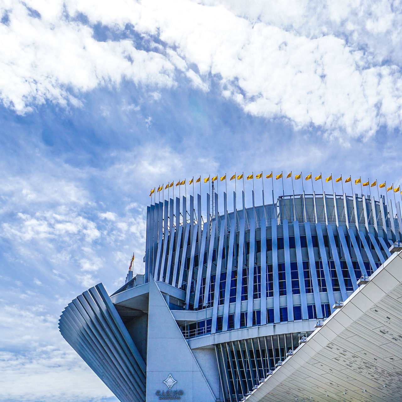 architecture, cloud - sky, sky, built structure, low angle view, building exterior, no people, day, outdoors, modern