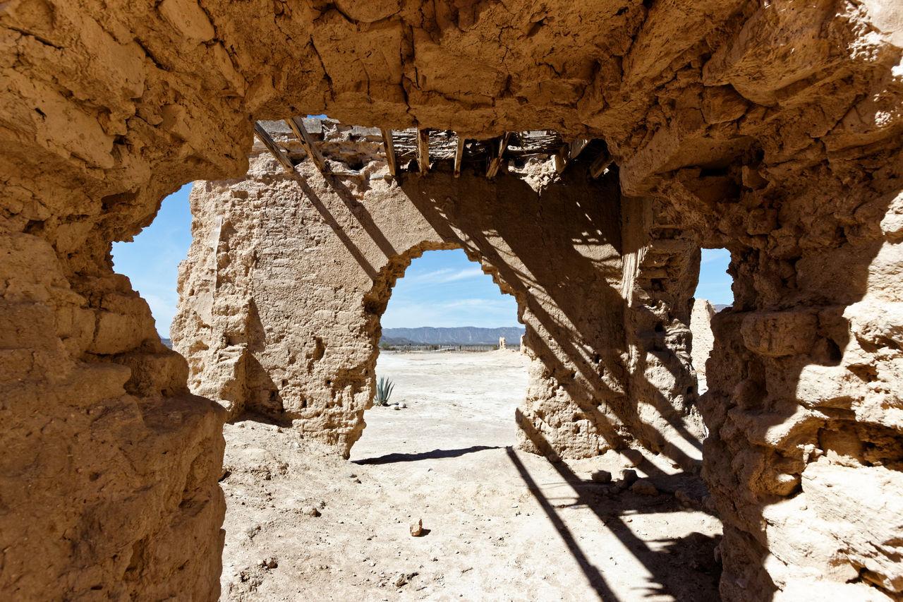 Ex-Hacienda del Muerto Desierto Ex-Hacienda Hacienda Mexico Mina NL Monterrey, México Ruinas Ruins Sunny Day