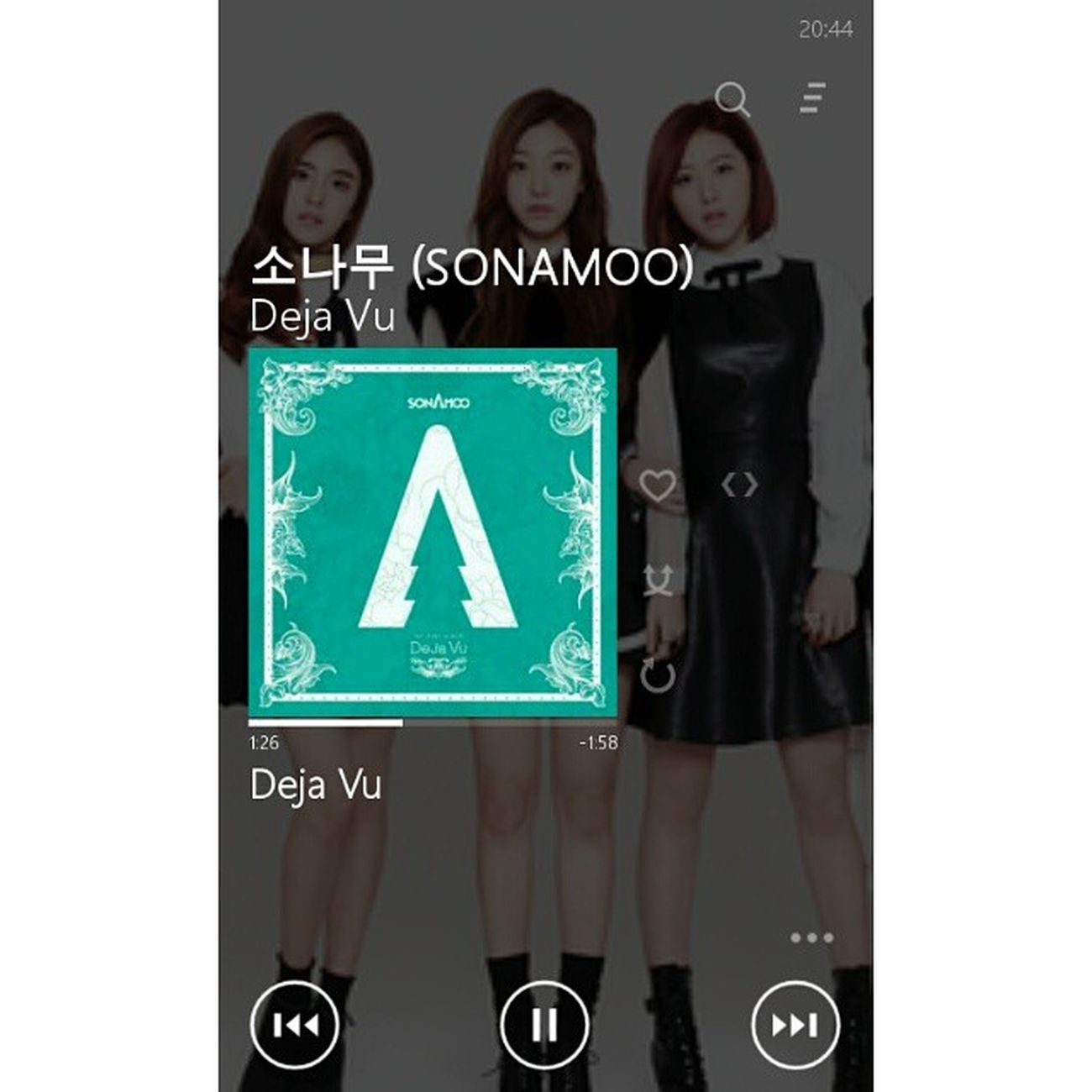 It's like deja vu ~ Sonamoo