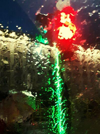 No People Illuminated Water Outdoors Day Close-up City Rain Umbrella Building