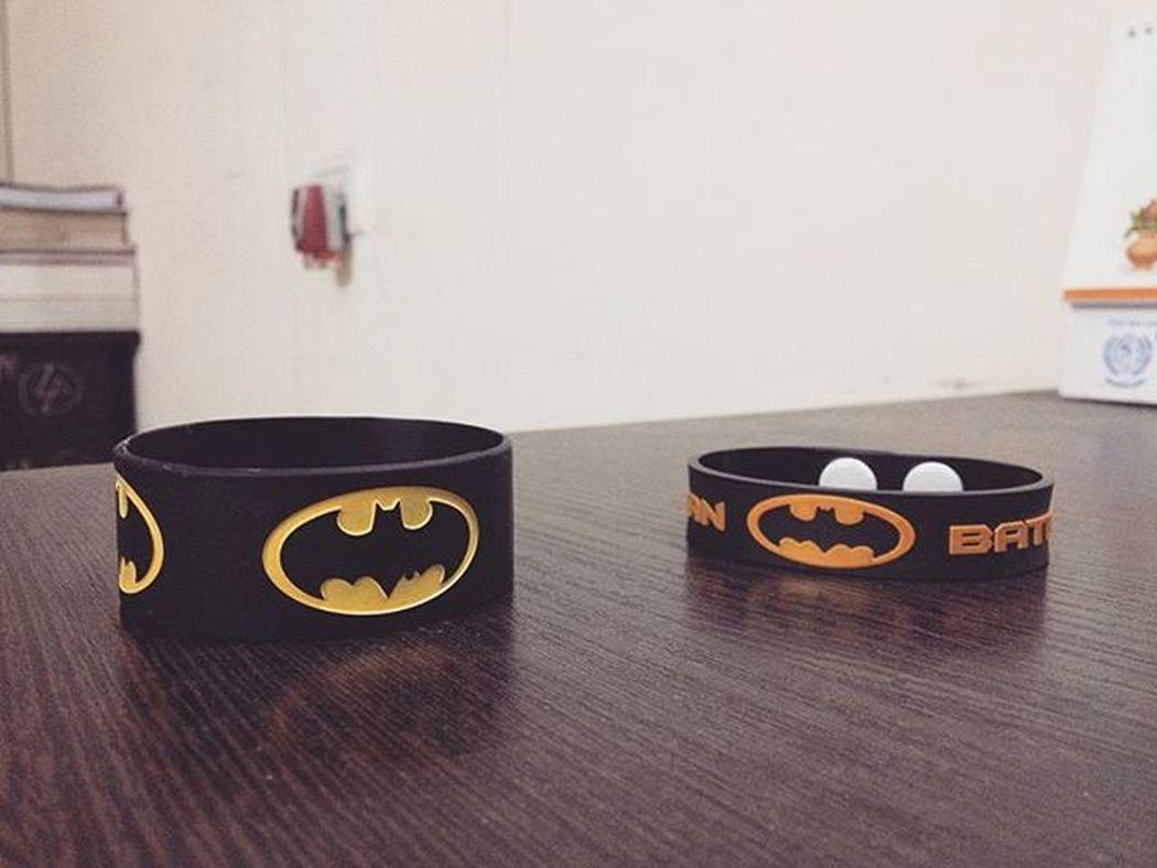 Batman DComics Batmanforever Wristband Clicked by IPhone