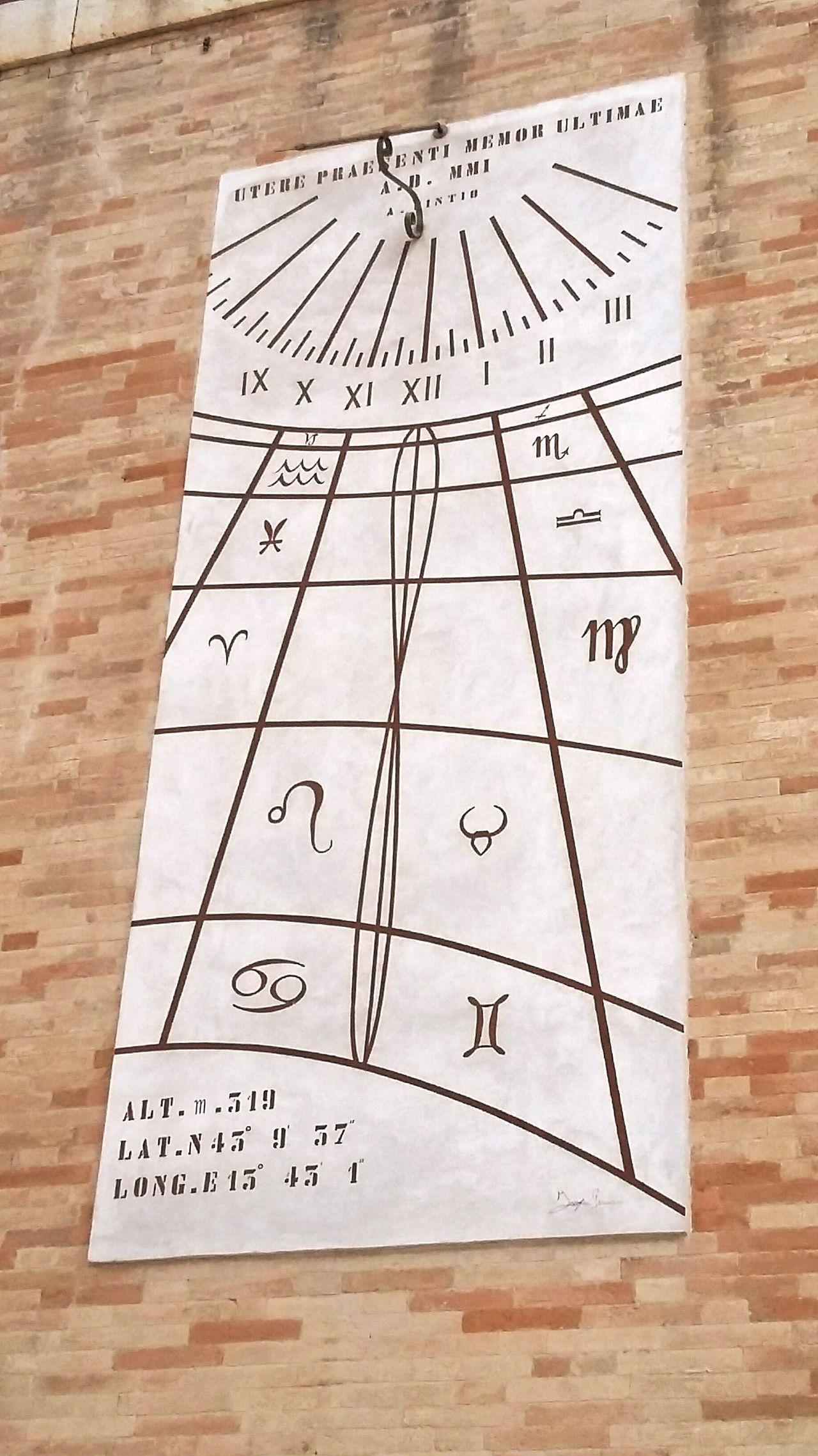 Zodiac Fermo Fermo Italy Mura Antico Zodiaco Zodiac Photography Zodiacsigns EyeEmNewHere