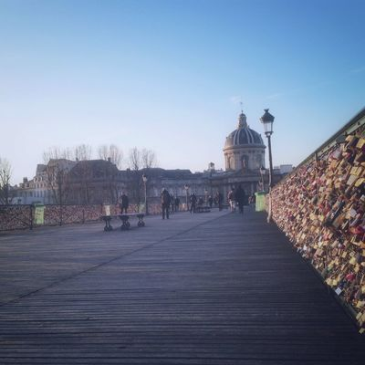 sunrise at Pont des Arts by Cecile_and_co
