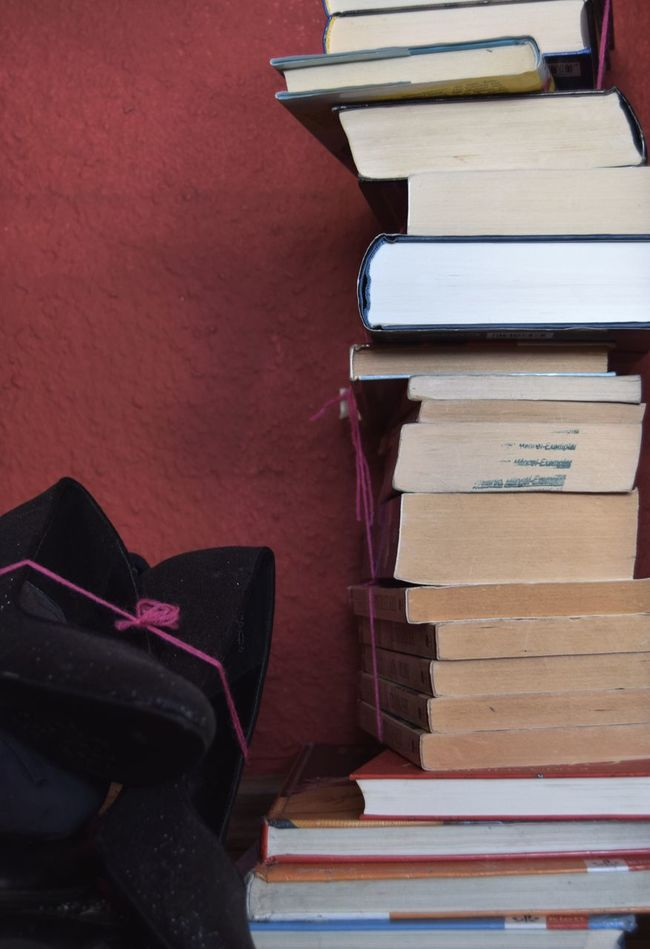 Stack Education No People Indoors  Close-up Library Day Book Stuff Change Move