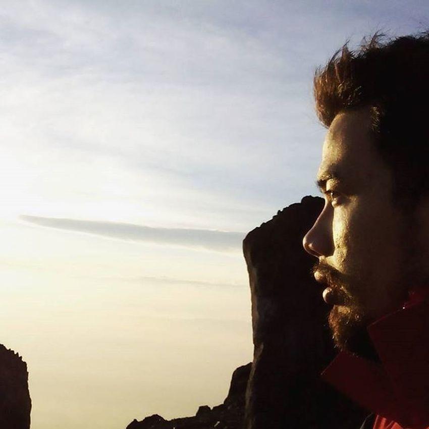 it's such a pleasure to witnessed all this geeat phenomenon.. Goodmorning INDONESIA Sunrise Mountain Merapi Volcanoes Hiking Climb Adventure People Pendaki Gunung Summit Emotion Adventure Trip Masl Mdpl