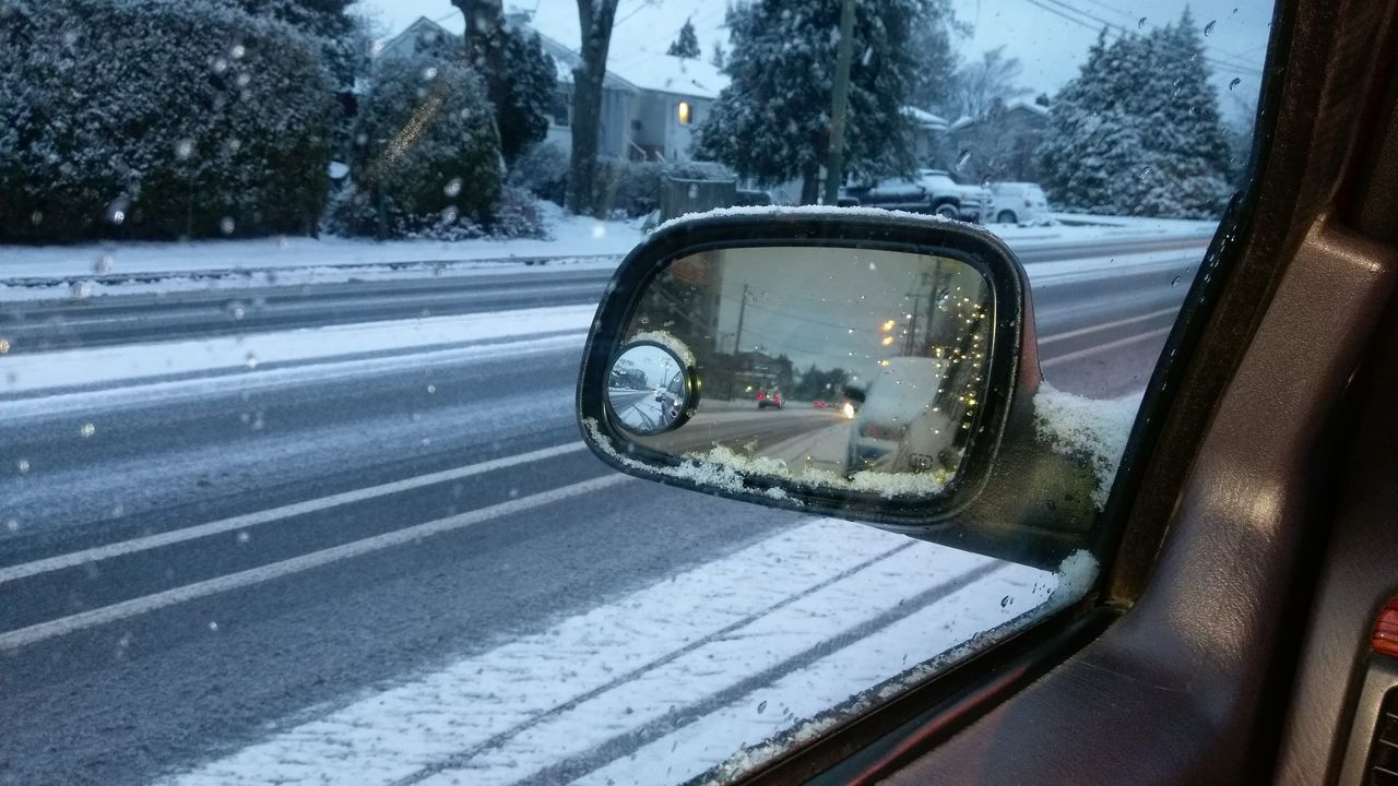 Jeep Life Jeep Cherokee Jeeping Side-view Mirror Land Vehicle Vehicle Mirror Winterbeauty Winter Morning Snowy Road Snowy Scene Snowy Days... Snowy Day ❄ Snowy Morning Snowy Street