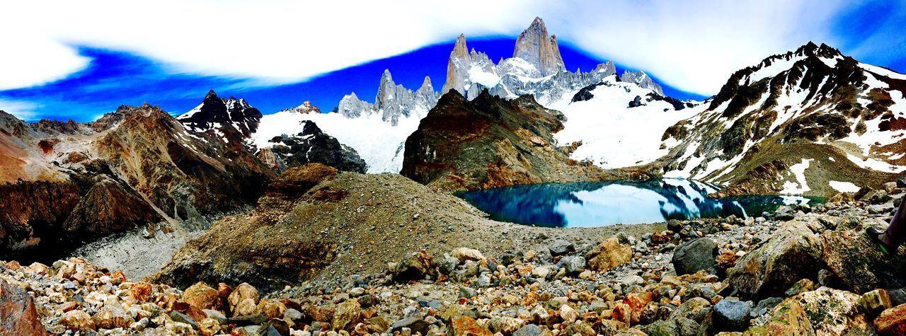 Fitz Roy.🗻 Explore Travel Patagonia Adventure Landscape Mountains Ruta40 Hello World Check This Out Taking Photos