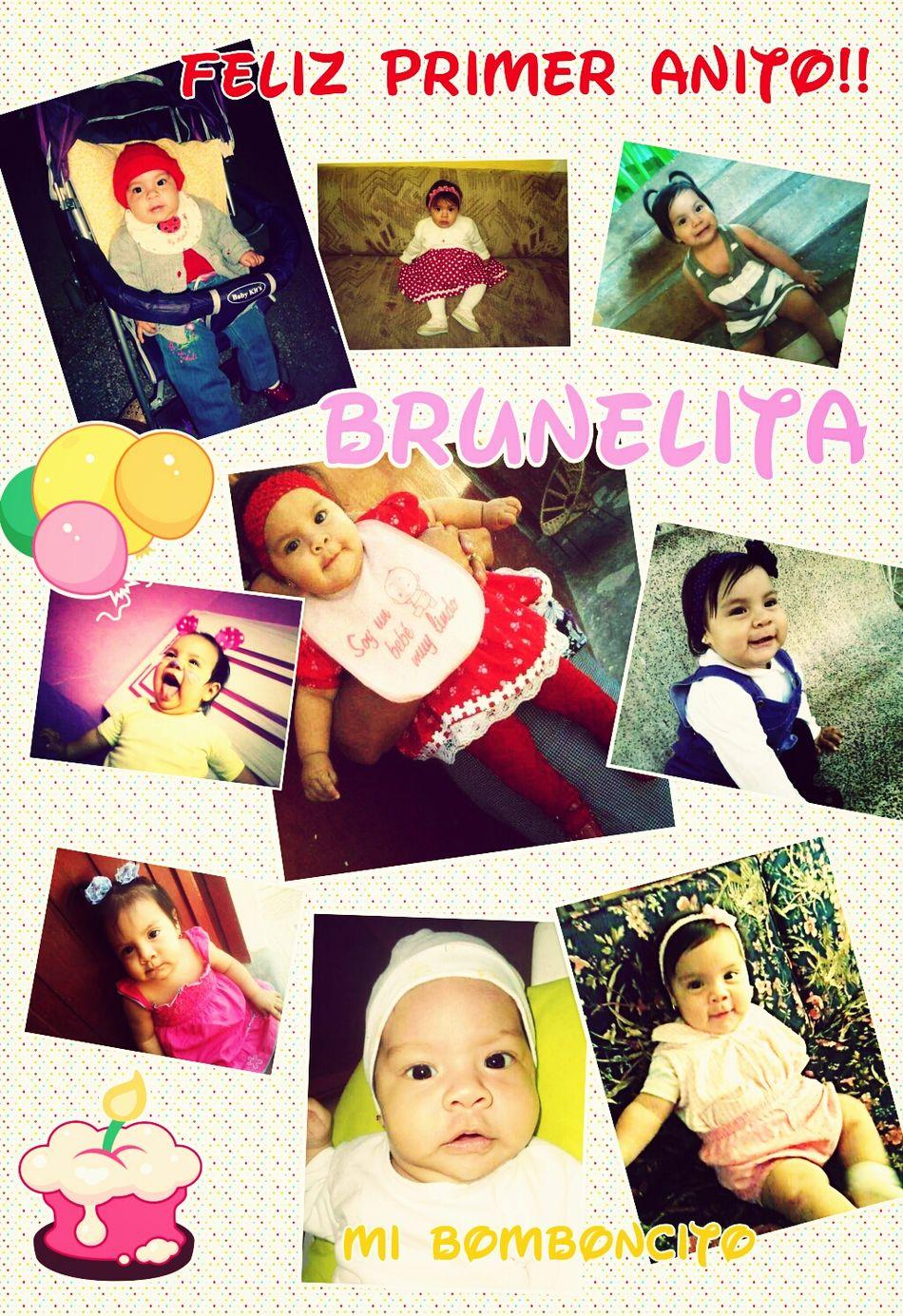 feliz cumpleaños princesita......te quiero mucho mi sobrinita preciosa.......... Happy Birthday Baby Girl Precious ❤ My Little Princess MINI CORNEJO