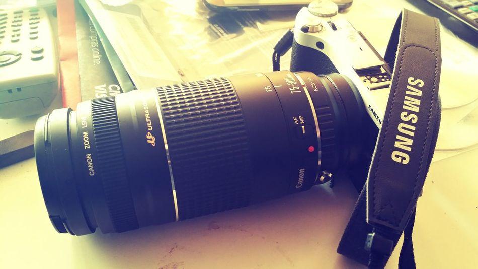 Samsung Nx300 Ef Ultrasonic Lenses Canon 75-300