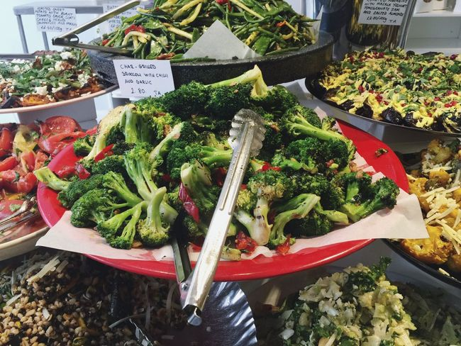 Greens Ottolenghi Vegetable Food And Drink Lunch London Uk Travel