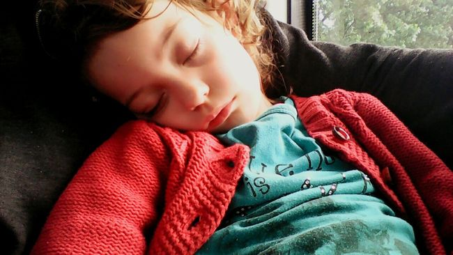 Long Day On A Train Color My Girl Daughter