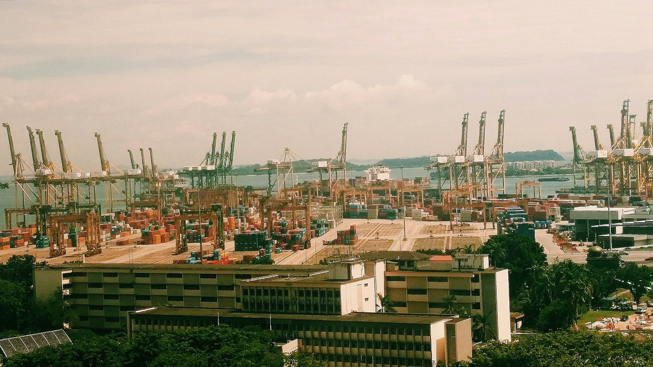 Keppel Port On The Move Ships Containers Singapore
