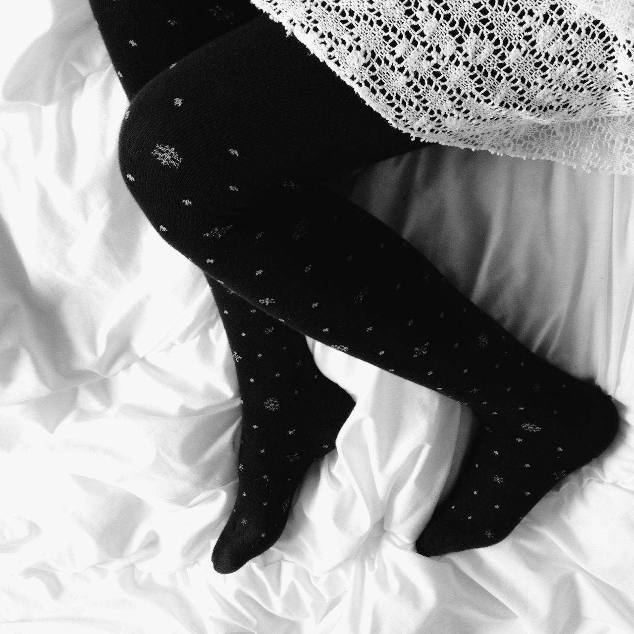 Everyday Joy Bedtime Relaxing Blackandwhite TK Maxx Socksie