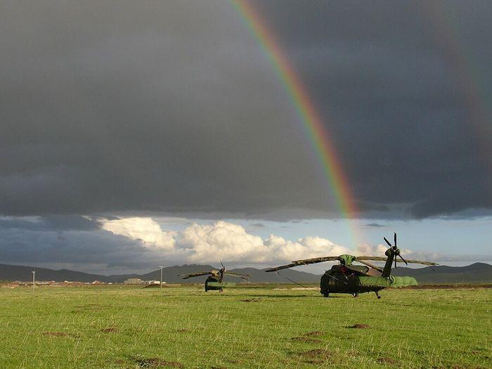 航拍二十二年了,我真信付出与收获是成正比的,就如风雨过后,见彩虹。 Rainbow Beauty In Nature Sky Cloud - Sky Nature Landscape Scenics Field Grass Double Rainbow Outdoors Tree No People Day First Eyeem Photo