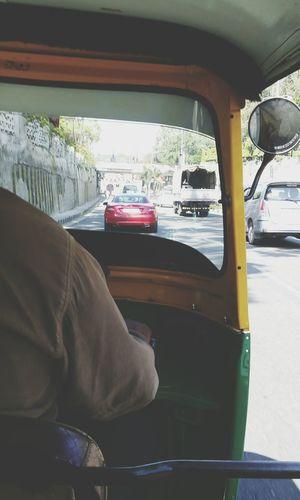 Auto ride. Auto Bangalore