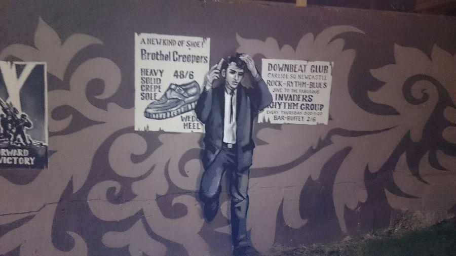 Teddyboy Street Art Newcastle Upon Tyne Quayside