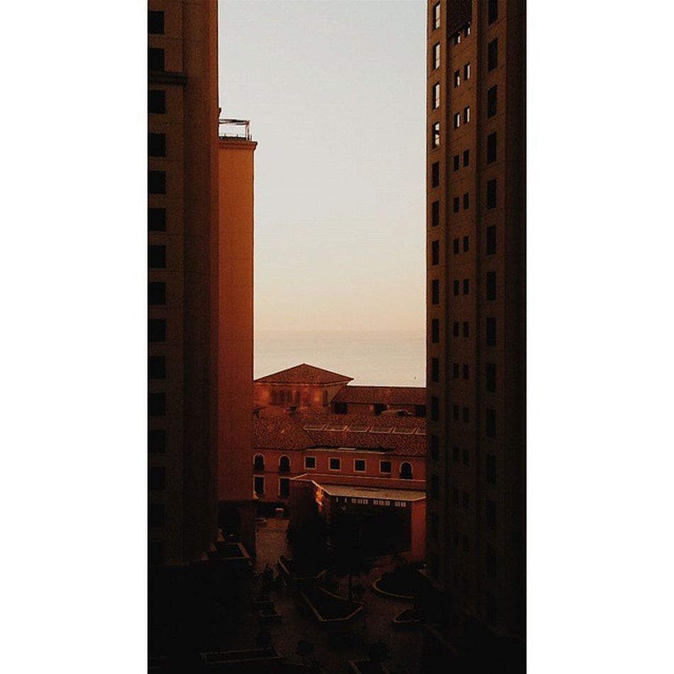 Seize the moment because some opportunities don't come twice. Makeitorbreakit Jbr Sunset